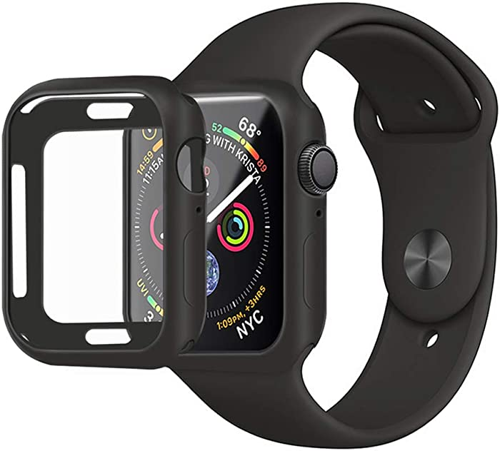 MENEEA for Apple Watch Series SE/6/5/4 Case 44MM Protector,Ultra-Thin Anti-Scratch Flexible Soft Protective Bumper Cover for New Apple Watch Series SE/Series 6/Series 5/Series 4