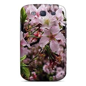 Flexible Tpu Back Case Cover For Galaxy S3 - Beautiful Sakura Tree Blossoms