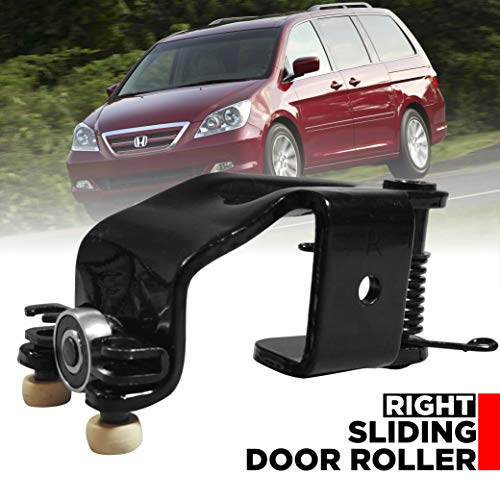 Sliding Door Roller Assembly Right Side Fits Honda Odyssey 2005-2010 | Passenger Side Center Male Power Rear Door Rollers Replacement Part | Also Fits EX, EX-L, Touring Models T1A-72521-SHJ-A21