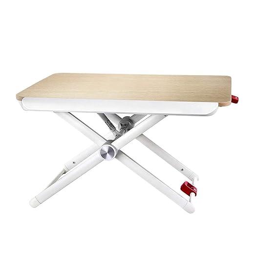 Cxmm - Mesa Plegable de Escritorio Alto con Soporte de elevación ...