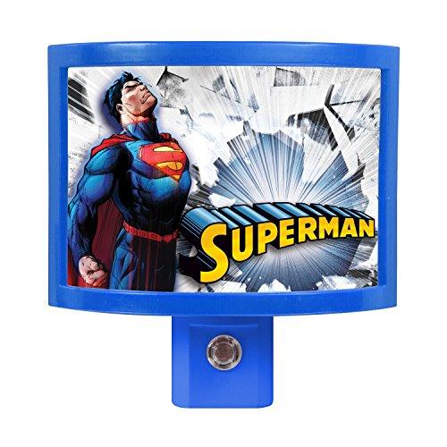Amerelle WBS7104 Superman LED Frame Nite - Superman Night Light