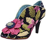 Poetic Licence Women's Rita Primrose Pink and Navy Peep Toe Shoe Boot UK 4 - EU 37 - US 6