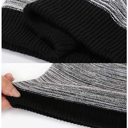 El Forro Polar negro Punto Diseño rojo Cráneo Unisex talla Sombrero Black Forrado Con Slouchy Invierno Fino De Beanie Suave Un Única Hat Ylumin qyctgaT