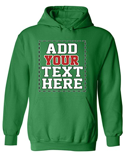 DESIGN YOUR OWN HOODIE - Cool Custom Hoodies for Men & Women - Cute Personalized Hooded Sweatshirts - Customized Graphic - Custom Your Own