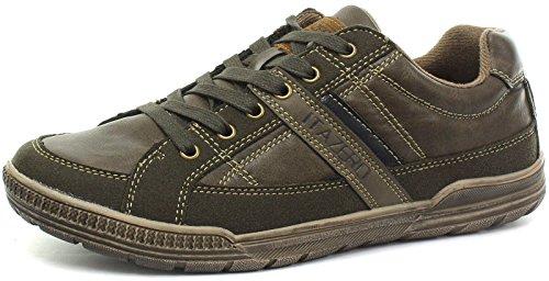 Chaussures bateau homme pour Roamer Marron 8dPqw8H7