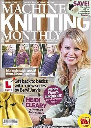 Machine Knitting Monthly Amazon Magazines