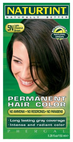 5N Light Chestnut Brown Naturtint Naturally Better 5.6 Fl oz by Clairol