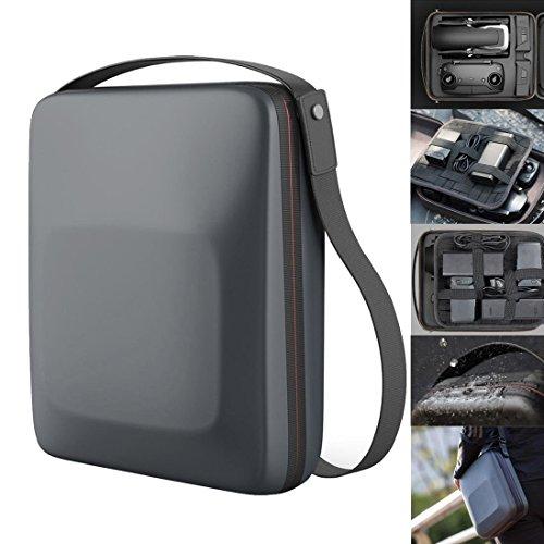 Kismaple DJI Mavic Air 用 収納ケース防水 ケース、キャリングケース ポータブル スーツケース ショルダーハンドバッグ DJI Mavic Air ドローン、コントローラー、バッテリー、アクセサリー 対応 ハードシェル