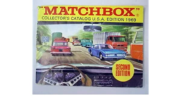 1969 Matchbox Collectors Catalog, 2nd Edition: Lesney Products