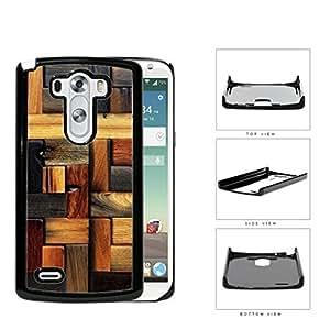 Aged Laminate Hardwood Floor Hard Plastic Snap On Cell Phone Case LG G3