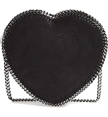 13bea2ff5 Image Unavailable. Image not available for. Color: Stella McCartney  Falabella Heart Faux Leather Crossbody Bag