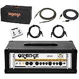 Orange Crush Pro CR120H BK Guitar Amplifier Head Black 120watt Amp w/Bundle