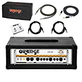 Orange Crush Pro CR120H BK Guitar Amplifier Head Black 120watt Amp w/Bundle