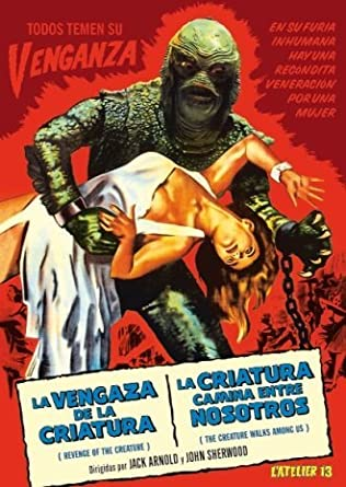 Revenge of the Creature and the Creature Walks Among Us - Double ...