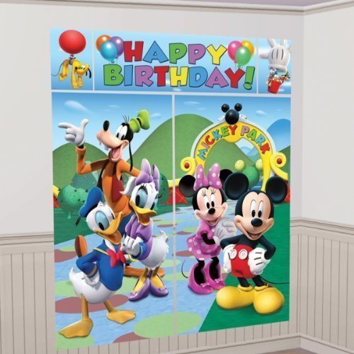 Mickey Mouse Party Scene Setter Decoration