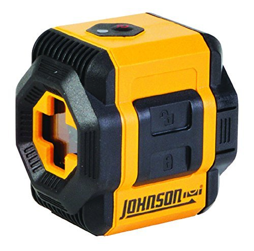 Johnson Level & Tool 40-6603 Self-Leveling Cross-Line Laser Level with Plumb and Level Layout Lines by Johnson Level & Tool