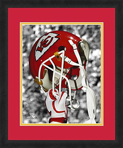 NFL Kansas City Chiefs Beautifully Framed and Double Matted 18