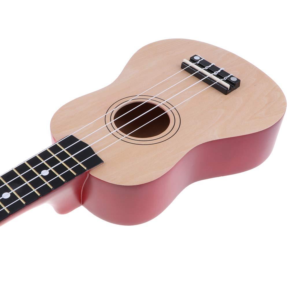 Homyl 21 inch Professional Basswood Ukelele Instrument Kit for Kids Students Beginners 21 inch Wood