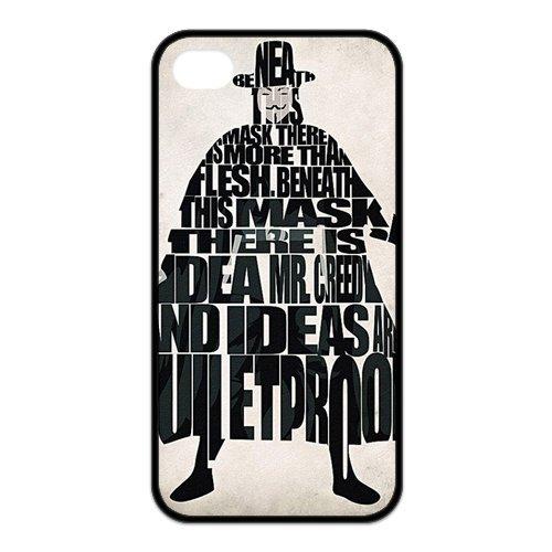 iPhone 5/5S Cover, Custodia per iPhone 5S, V for Vendetta Design Durevole materiale silicone Rubber Case Cover for iPhone 55S
