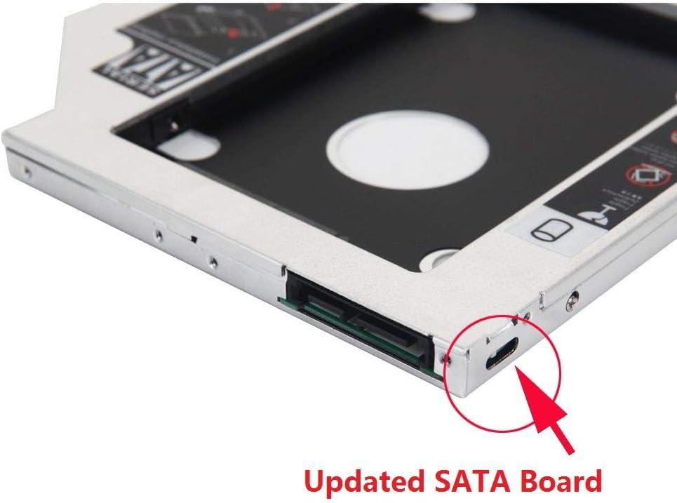 2º disco duro SSD adaptador de marco óptico para Lenovo IdeaPad ...