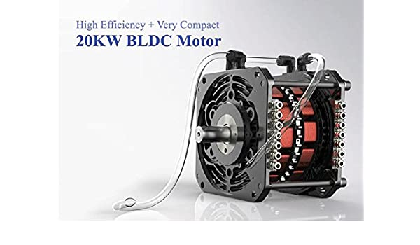 72V 20KW BLDC Motor and Controller for Electric Car