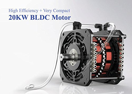72V 20Kw Bldc Motor And Controller For Electric Car Conversion Kit