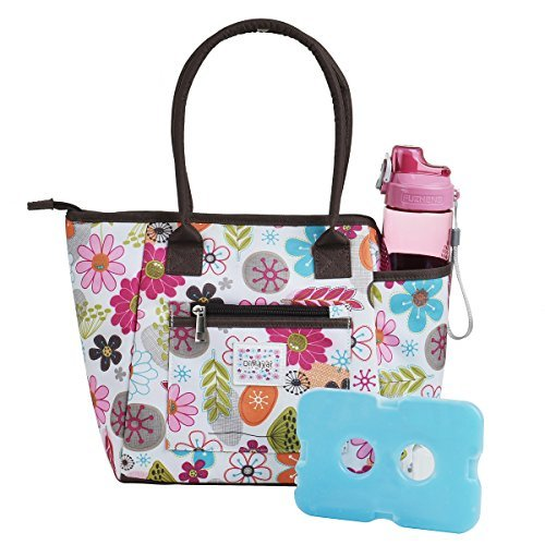 Lunch Bag Set By Dimayar Lunch Box With Ice Pack And 20 Oz