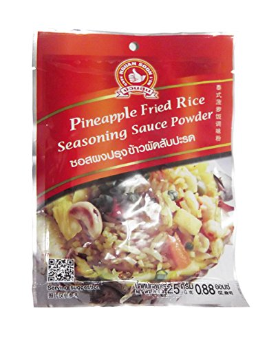 Pineapple Fried Rice Seasoning Sauce Powder Net Wt. 25g. Pack of 4