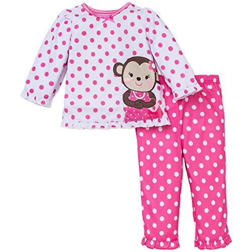 Girls 2 Piece Monkey - 2