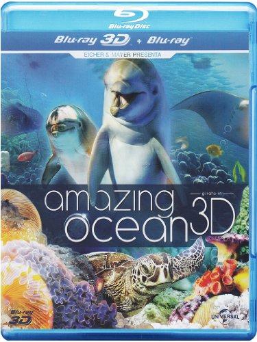 amazing ocean (blu-ray 3d+blu-ray) blu_ray Italian Import