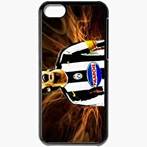 Personalized iPhone 5C Cell phone Case/Cover Skin Alessando Del Piero Football Black by supermalls