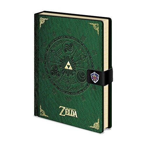 Legend Of Zelda Premium Notebook A5 Triforce New Version Pyramid International