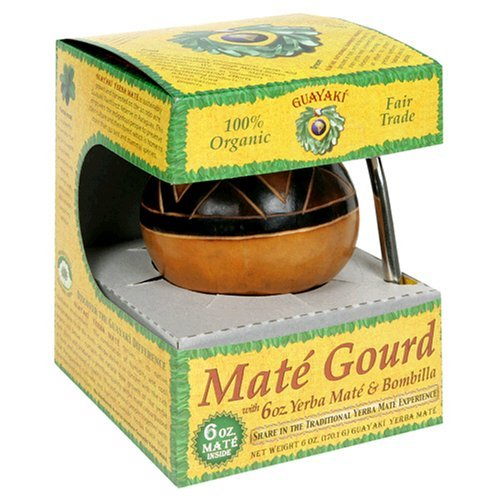 Guayaki Gaucho Gourd Gift Pack with 6 oz of Loose Yerba Mate, Garden, Lawn, Maintenance