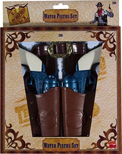 [Smiffy's Western Water Pistol Set In Holsters] (Western Gun Holster Costume)