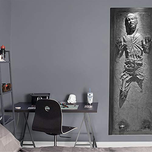 FATHEAD Han Solo in Carbonite - Life-Size Officially Licensed Star Wars Removable Wall Decal Multicolor by FATHEAD (Image #1)