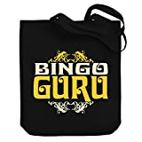 Teeburon Bingo GURU Canvas Tote Bag