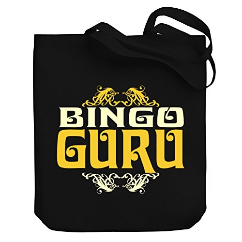 Teeburon Bingo GURU Canvas Tote Bag by Teeburon
