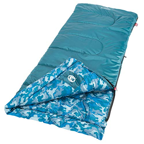 Coleman Kid Camo Youth Sleeping Bag ()
