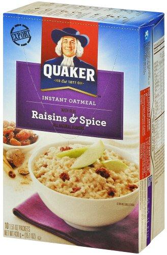 Quaker Oats Oatmeal Raisin - 9