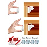 Baby Proofing Magnetic Locks for Child Safety | 8 Locks + 2 Key Sets | No Tools Required | Easy to Install| Free Installation E-Book