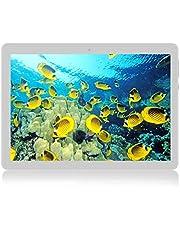 KXD Tablet Android 7.0 da 10 pollici con WiFi, navigazione Bluetooth 4 GB di RAM 64 GB di Memoria Dual SIM 3Gè anche un cellulare (Negro)