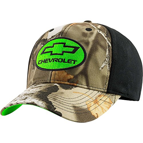 Legendary Whitetails Mens Ford & Chevy Trucked Up Cap Chevy - Cap Camo Stretch
