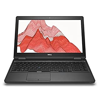 Dell Precision M3520 Intel Core i7-7820HQ X4 2.9GHz 16GB 512GB SSD, Black (Renewed)