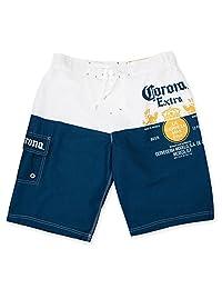 Corona Extra Label Mens Swim Board Shorts