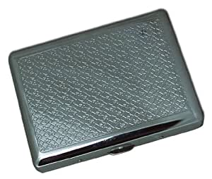 Etched Poker Cigarette Case (For King Size & 100's) #79