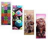 Inkology 3D Lenticular Slider Pencil Cases, 24 Piece Value Set, Design May Vary (03186)