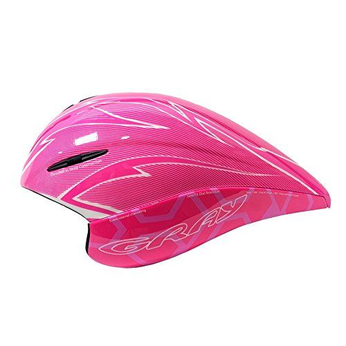 Gray Triathlon/Time Trial TT Aero Helmet - Pink (Best Aero Tt Helmet)