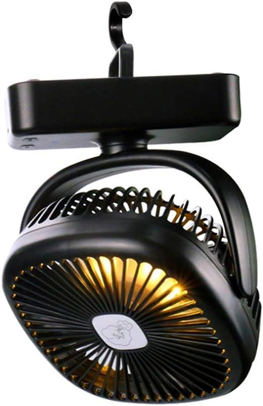 Zoloyo Mini Ventilador de Escritorio, Linterna LED portátil para Camping, Ventilador de Techo, Mini Ventilador de Escritorio, Kit de Carga USB para emergencias al Aire Libre: Amazon.es: Hogar