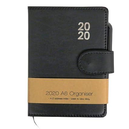 2020 Premium A6 Organizador con bolígrafo, vista semanal ...
