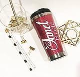Set of 8 Handmade Personalized Wedding Party Glitter Travel Coffee Mug